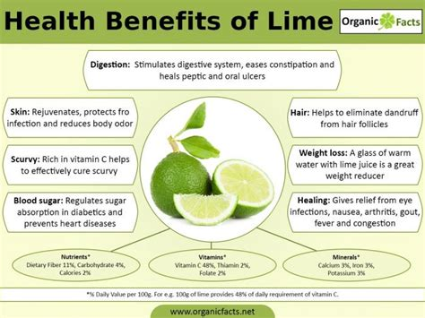 17 Impressive Benefits of Lime   Organic Facts