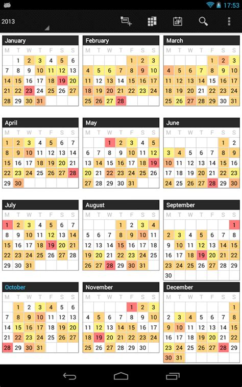 Business Day Calendar Business Calendar Android Apps On Play