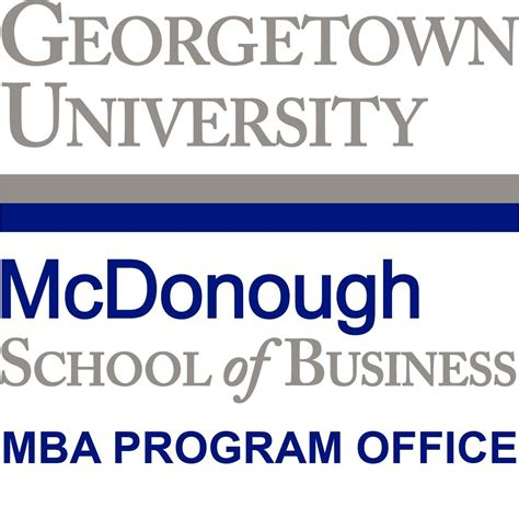 Georgetown Mba Program by Georgetown Mba Msb Mba