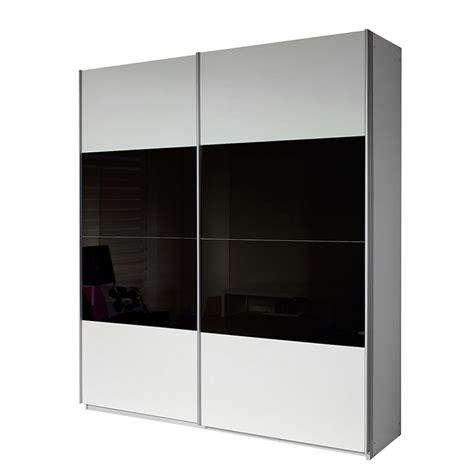 kleiderschrank schwarz weiß hochglanz schwebet 252 renschrank wei 223 schwarz tesoley
