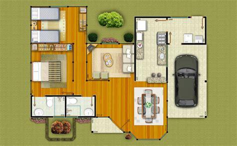 projetos de casas plantas de casas pequenas gr 225 tis 20 modelos decora 231 227 o