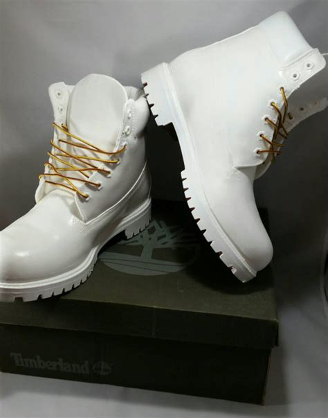 white timberland boots custom timberlands cocaine