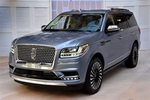 Ford Lincoln All New 2018 Lincoln Navigator Bows In Ny Ford Authority