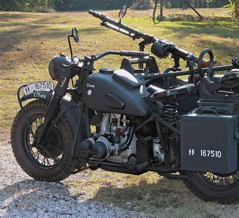 Ural Motorrad Blog by Bmw The 1942 R75 Military Motorcycle With Sidecar