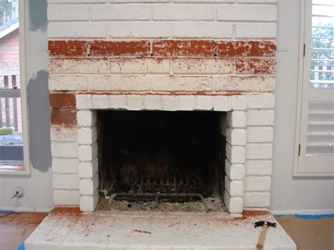 Restoring A Brick Fireplace project 1 restoring the brick fireplace using soygel