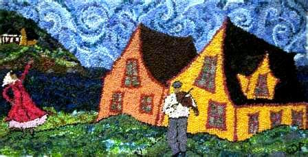 rug hooking patterns canada locker hooking the stash busters delight satin moon s