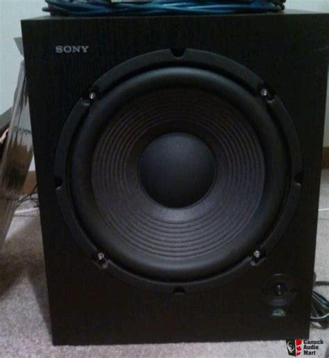 Speaker Subwoofer 150 Watt sony sa wm500 150 watt active subwoofer photo 608370 canuck audio mart