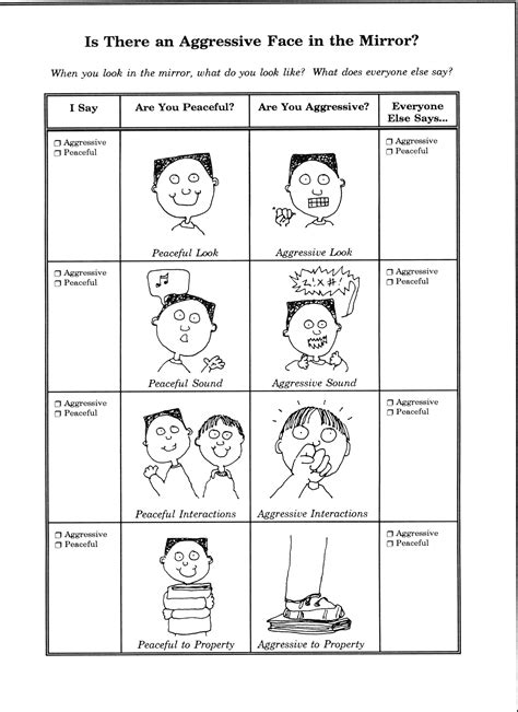 printable anger worksheets new student social emotional education self control worksheets