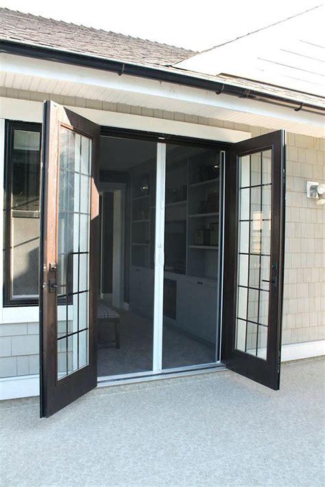 pella retractable screen door flawless pella french door trendy french door screens
