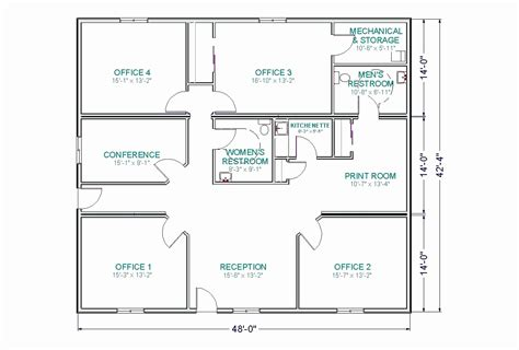 floor plan of business floor plan inspirational home fice small business