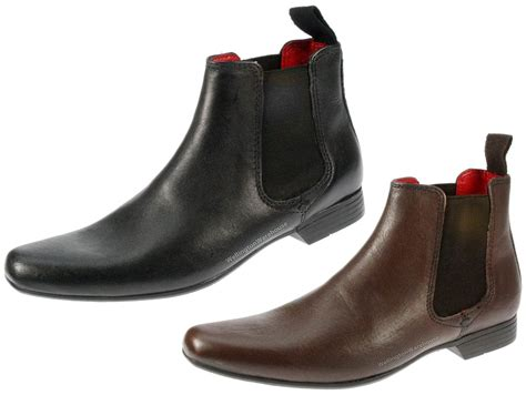 pointed mens boots garforth pointed toe leather mens chelsea ankle