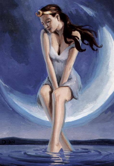 Goddess Of artemis lucina carmenta