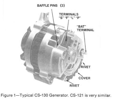 chevrolet alternator wiring diagram electrical hobby