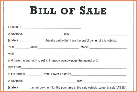 vehicle sale receipt template australia receipt of sale for car 3 as is no warranty bill of sale