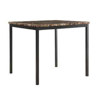 Mio Set By Briseis Collection oxford creek mio faux marble 5 casual counter height dining set home furniture