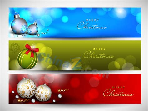 templates for christmas banners christmas banner material vector templates free download