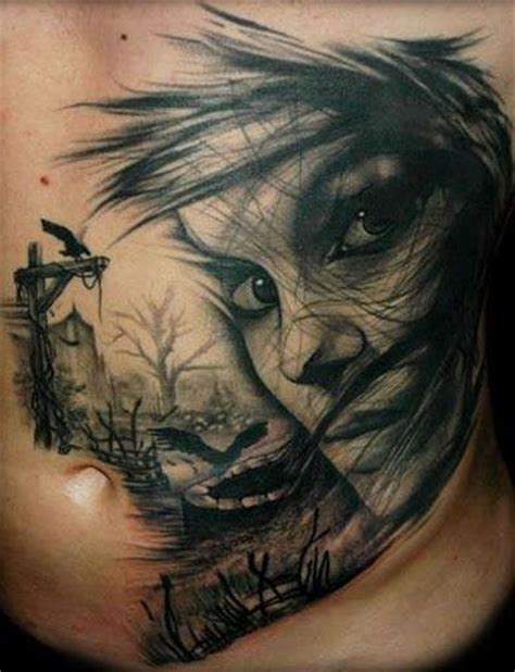 tattoo horror pictures tattoo artist sandor pongor horror tattoo horror