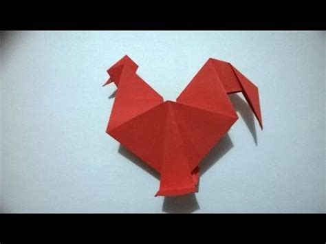 origami rooster tutorial 1000 images about origami on pinterest origami paper