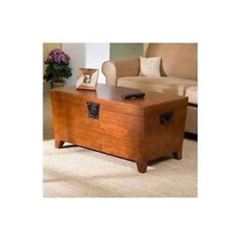 trunk coffee table lift top storage chest living room