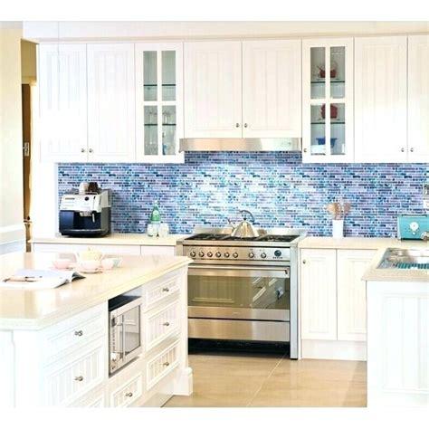 kitchen style ideas stone backsplash glass subway tile