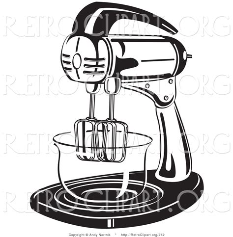 kitchen mixer coloring page stand 20clipart clipart panda free clipart images