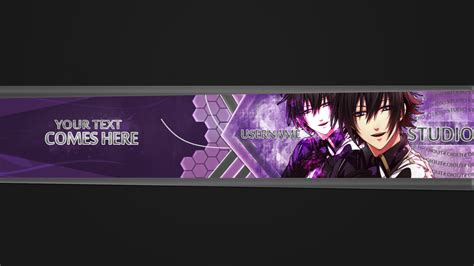 youtube banner 7 design by yokoarts on deviantart ac youtube banner shinnosuke masaki by yokoarts on
