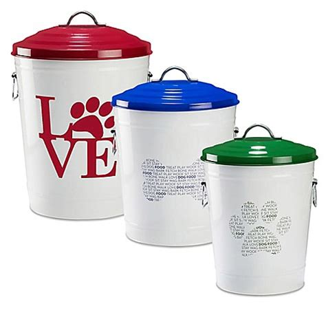 Food Storage Collection happy hound pet food storage collection bed bath beyond