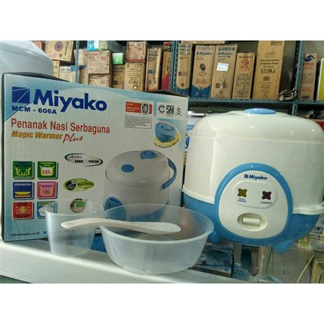 Miyako 606a by Magic Rice Cooker Miyako 606a 606b 0 6 Liter Shopee