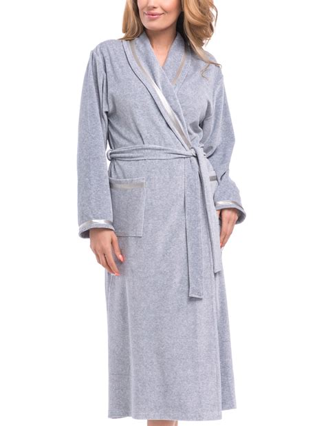 Comfortable Robes by Dn Nightwear Swa 1078 Womens Comfortable Dressing Gown