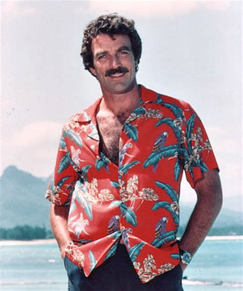 im looking for the sweater tom selleck wears in this was tom selleck constantly hiding an erection on magnum