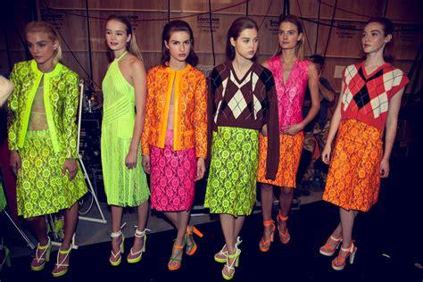 Graduate Fashion Week Trendwatch Nineties Neon by Luxelife Neon Bright