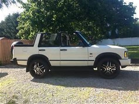 land rover discovery convertible find used rare custom convertible 03 land rover discovery