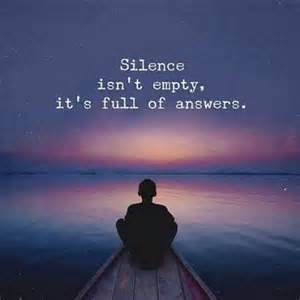 silence is full you can t bully me