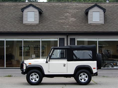 automobile air conditioning service 1994 land rover defender free book repair manuals 1994 land rover defender 90 soft top copley motorcars