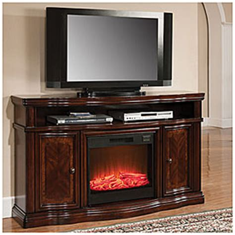 big lots 60 inch cherry media fireplace 499 99 special buy