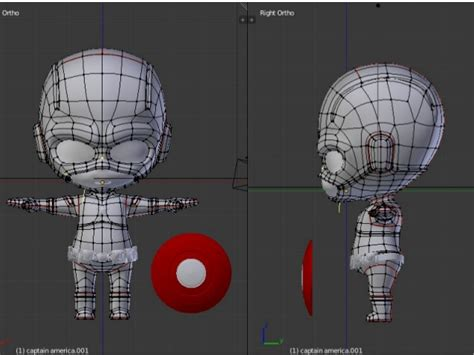 tutorial blender 3d tutorial blender 3d modelling captain america
