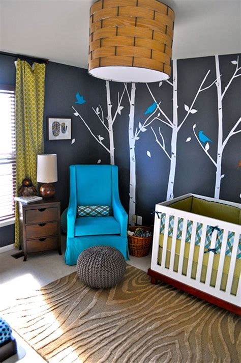 Baby Boy Nursery Room Decorating Ideas 25 Modern Nursery Design Ideas