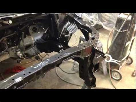 2010 honda civic frame rail replacement youtube