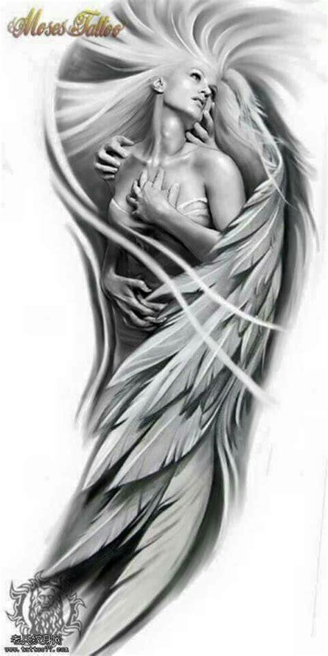 Angel sexy tattoo