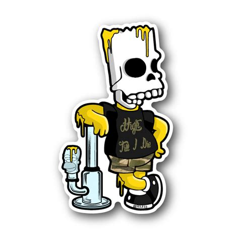 Bong Stickers
