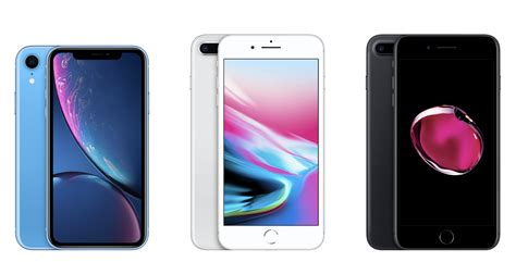 iphone 7 7 plus vs iphone 8 8 plus vs iphone xr 191 cu 225 l comprar cnet en espa 241 ol