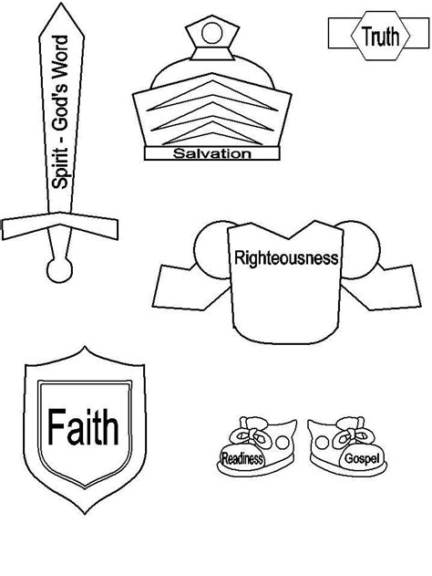 armor of god clip art bing images school pinterest