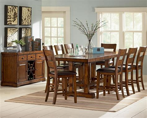counter height dining sets with bench counter height dinette sets homesfeed
