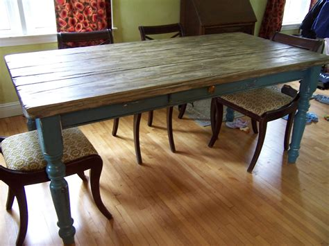 Traditional Dining Table Designs Designed Rustic Wooden Farmhouse Table With Antique Dining Chairs Wooden Floors As Decorate