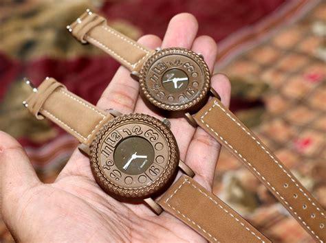 Jam Tangan Rb7d6a Korea Fashion Vintage Pu Leather Kulit Tribal Unik gear vintage brown jam tangan vintage gear leather with box battery
