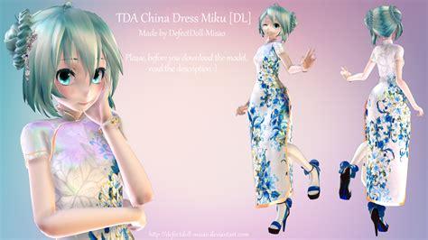 [MMD] China Dress Miku [DL] by DefectDoll Misao on DeviantArt