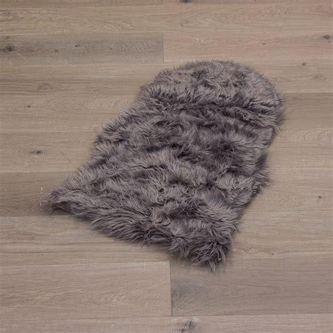 imitation sheepskin rugs sheepskin rug imitation sheep fur soft white grey