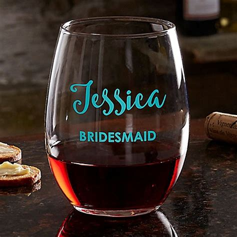 colored stemless wine glasses buy bridal colored vinyl stemless wine glass from