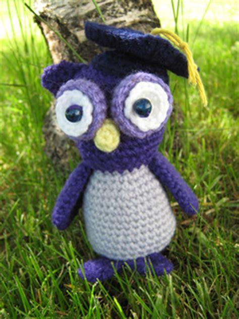 free crochet pattern amigurumi graduation owl ravelry amigurumi graduation owl pattern by lion brand yarn