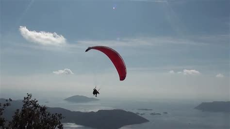 parachute 2 lve parachute with two people sliding stock footage video 3650768 shutterstock